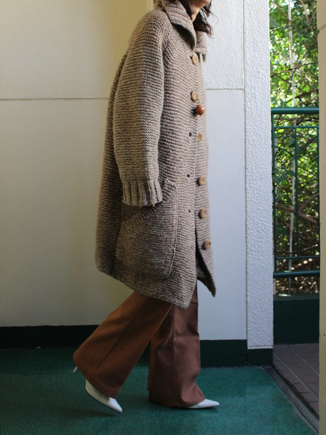 70s  knit coat