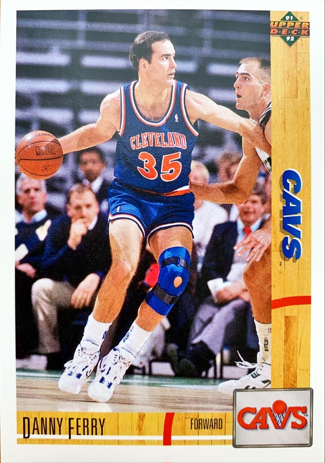NBAカード 91-92UPPERDECK Danny Ferry #237 CAVS