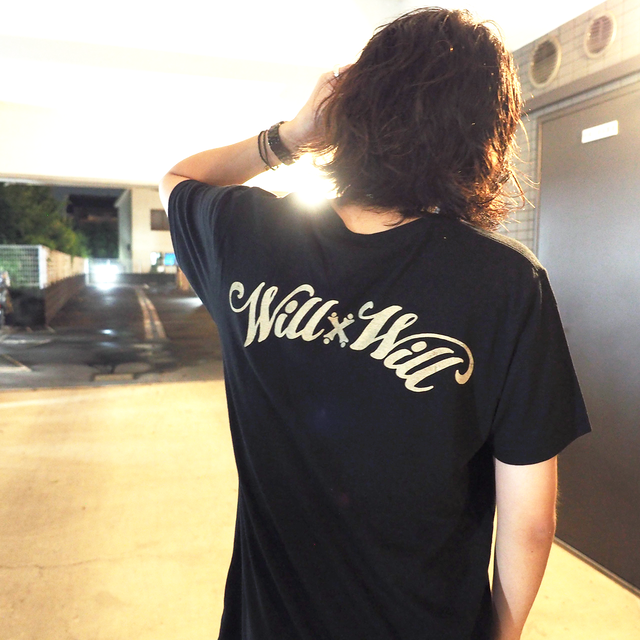 WillxWill Arch Logo V-neck Black