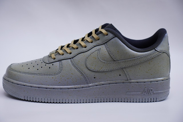 PAINTING AF1 GRAY×YELLOW