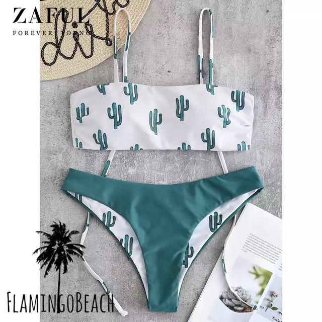 【FlamingoBeach】cactus bikini ビキニ