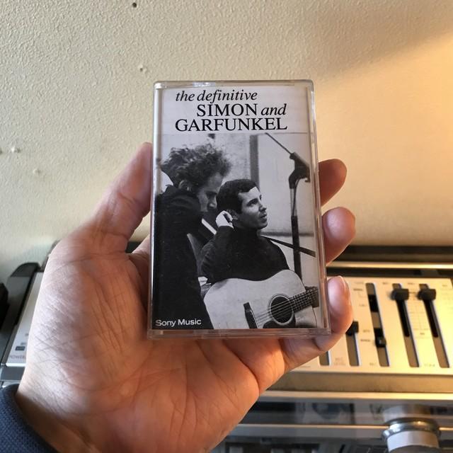 【中古】SIMON & GARFUNKEL/DEFINITIVE(カセットテープ)