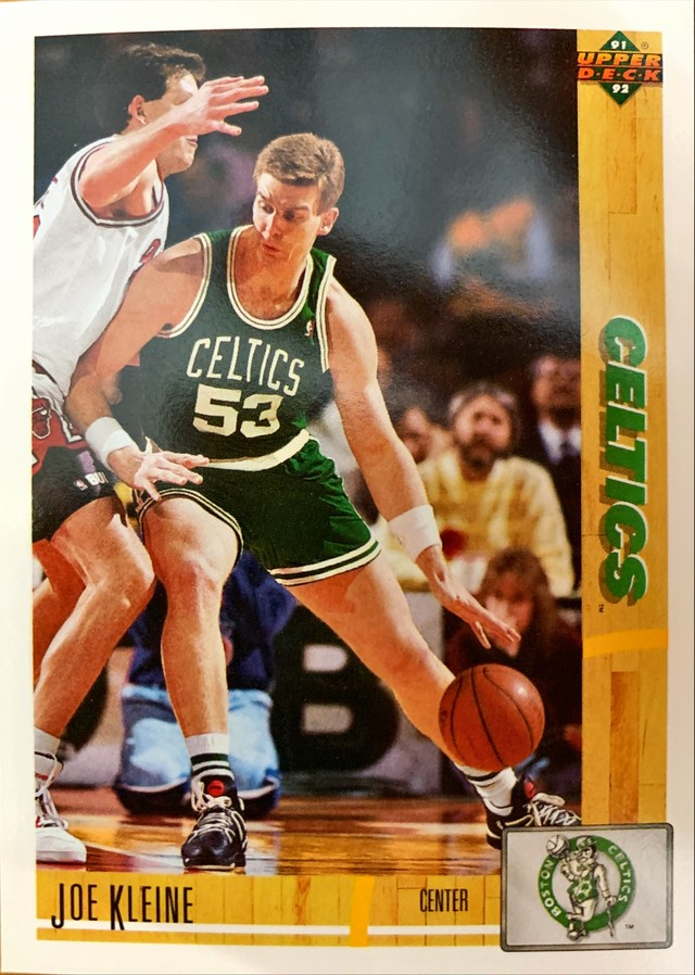 NBAカード 91-92UPPERDECK Joe Kleine #107 CELTICS