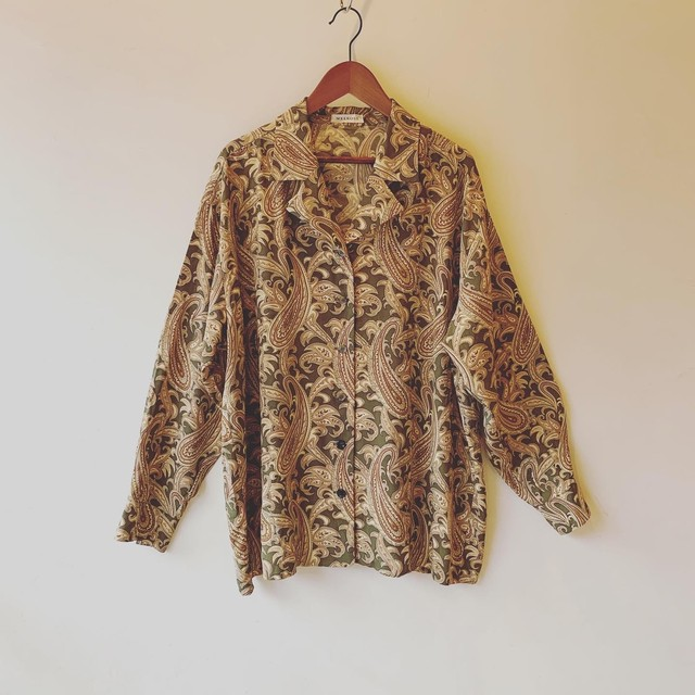 vintage paisley shirts