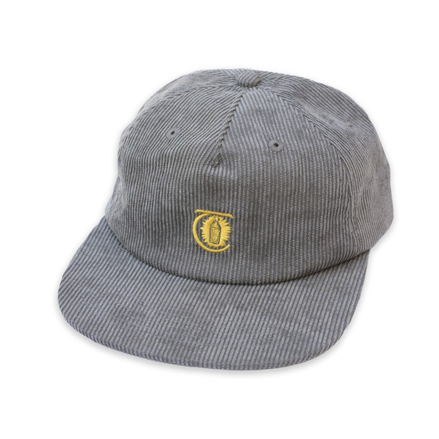THEORIES CAP -LANTERN CORDUROY- PEWTER
