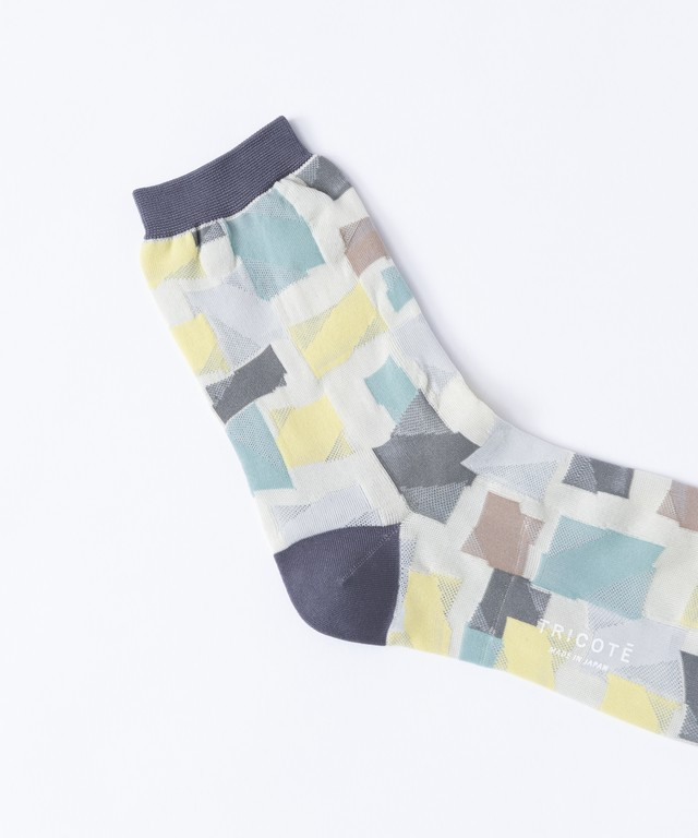【TRICOTÉ】 BUILDING SOCKS:グレー