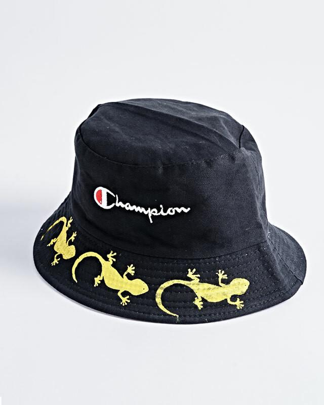 Gecko×LSD CAP(BLK)