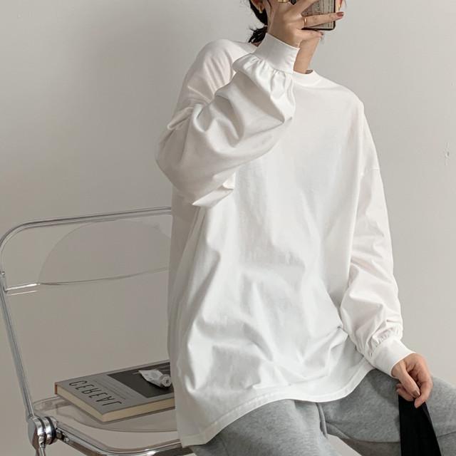 ルーズシンプルTシャツ 3425