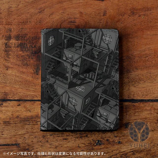パスケース おしゃれ 名刺入れ おしゃれ カードケース 革 大量 名刺ケース おしゃれ 定期入れ おしゃれ 和風 和柄 和室 四畳半パターン3Dグレー/YUHEI