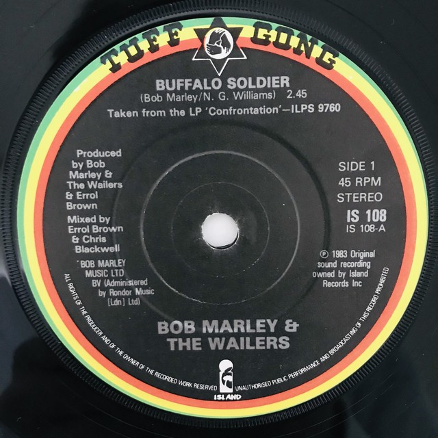 Bob Marley & The Wailers - Buffalo Soldier【7-10959】