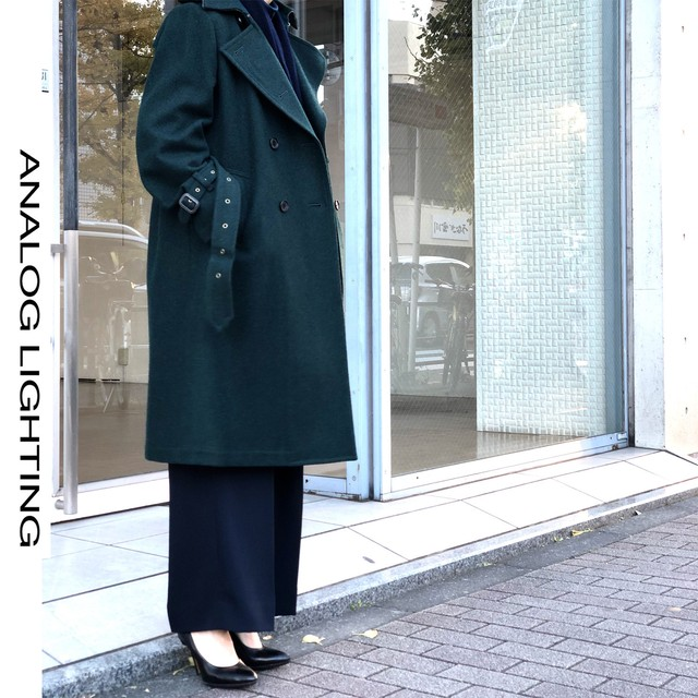 Trench Coat/GREEN