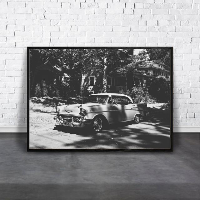 アートポスター Vintage Carデザイン