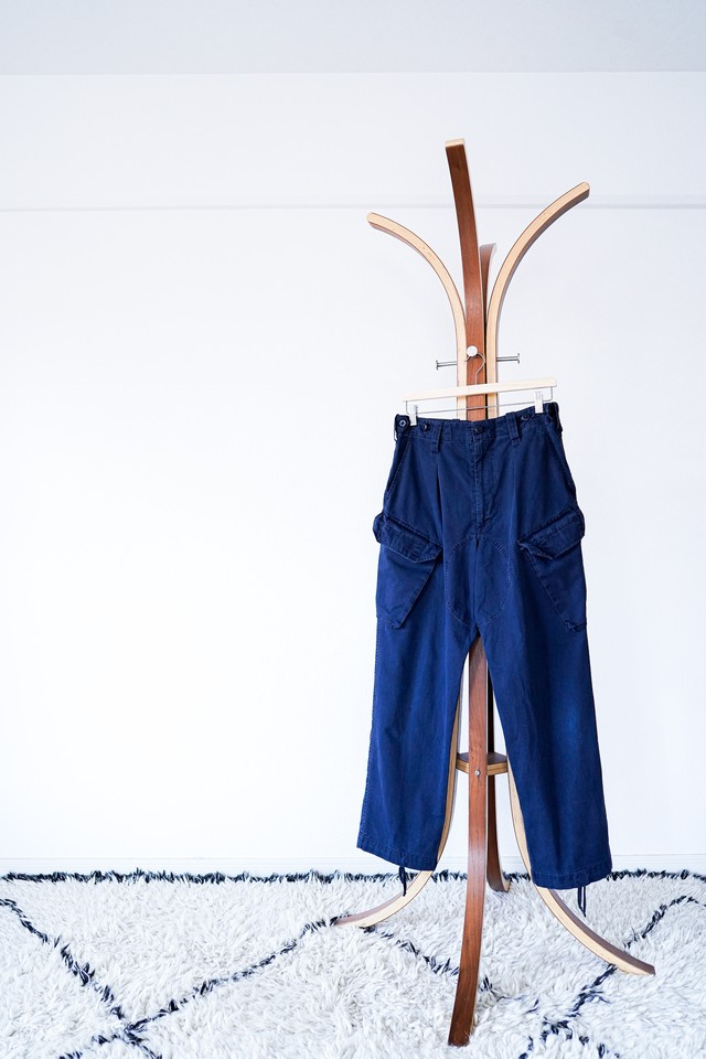 """【1990s, Damaged】""""Royal Navy"""" Combat Trousers, with Slant Cargo Pocket / y11d"""