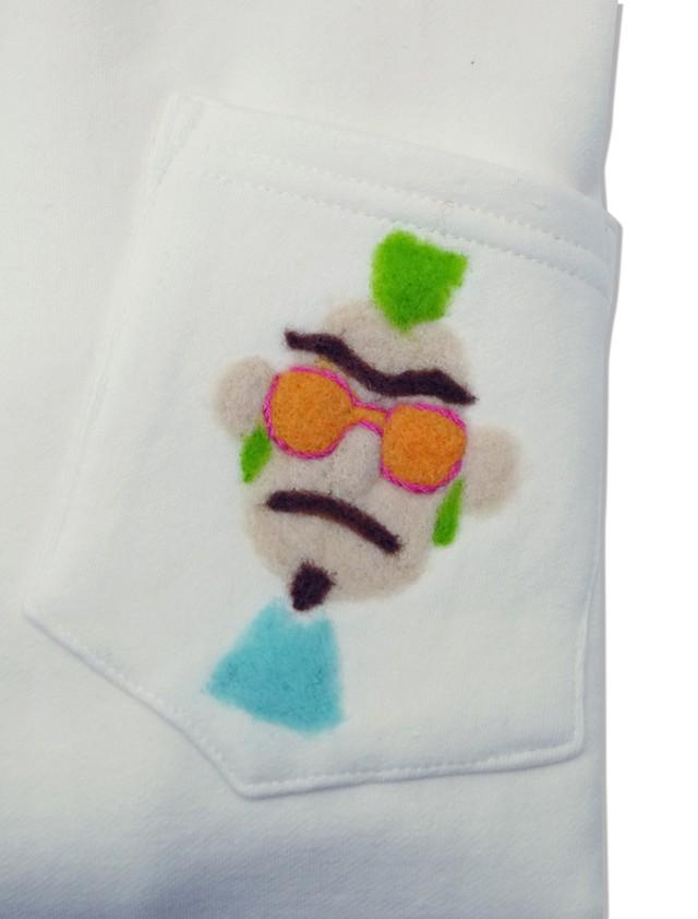 ニードルパンチトレーナー AT-P001 モヒカンおじさん+Orange Sunglasses