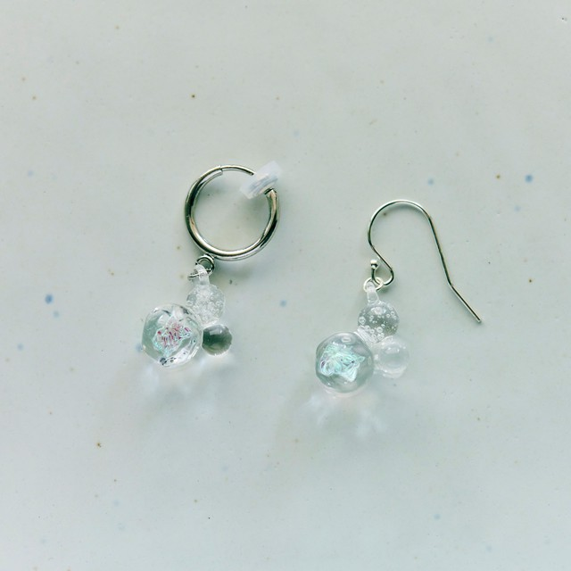 Foam Pierce / Earring  03