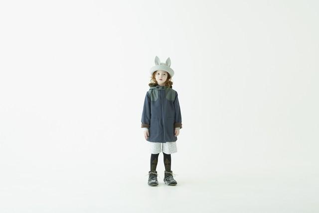 (予約8月入荷)【21AW】eLfinFolk(エルフィンフォルク) high lander coat(110/120 /130cm) コート アウトドア