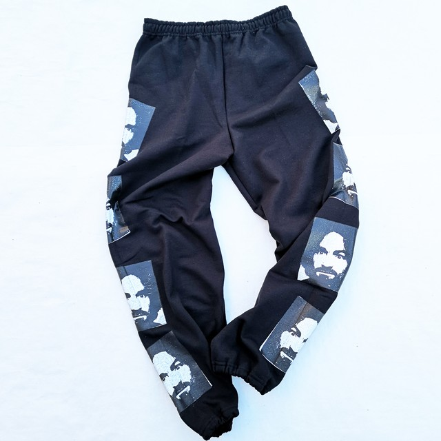 ||||| MANSON SWEAT PANTS BLACK