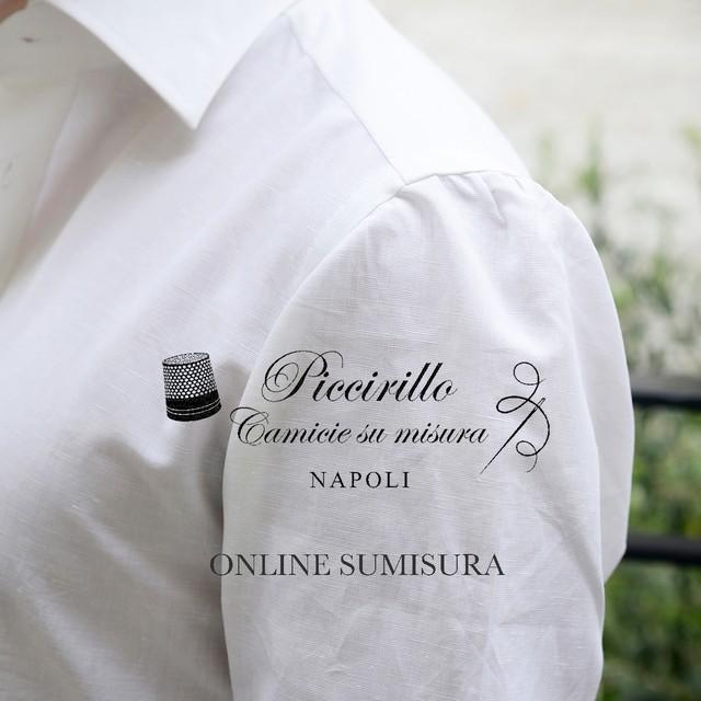 Camiceria Piccirillo オンラインオーダー『LONDON CLASSICS』バンチ生地込み