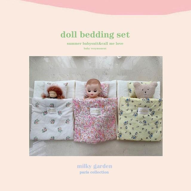 Doll Pillows and blankets / ブランケット /  韓国インテリア / kr-46