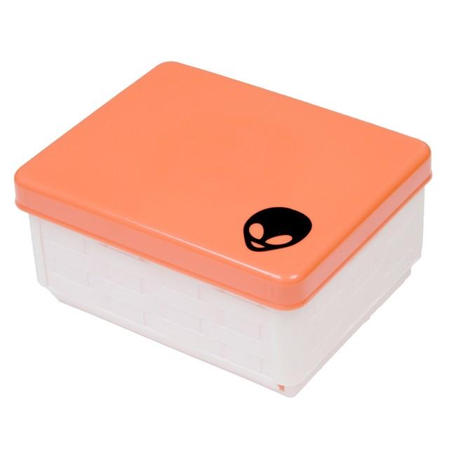 Alien Folding Lunch Box Red