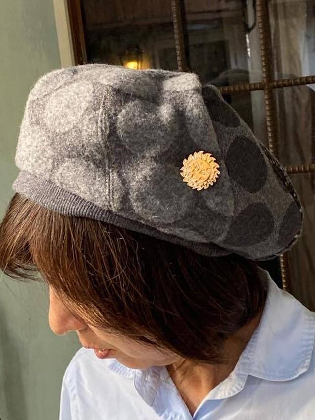 chikyu ちきゅう UZUMAKI   DOTベレー帽