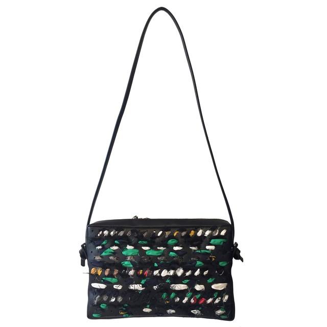 0-192-515 VIEW [mini shoulder bag] BLACK