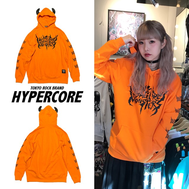 O-140 WE ARE HYPER CORE MONSTERSパーカー