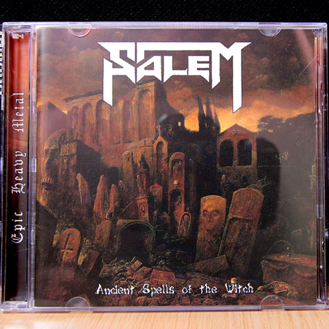 SALEM『Ancient Spells Of The Witch』2枚組みCD