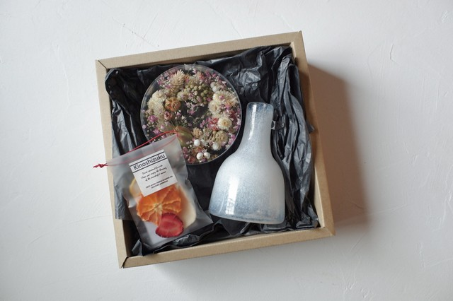 贈り物 BOXセット《 植物と果物を楽しむ 》