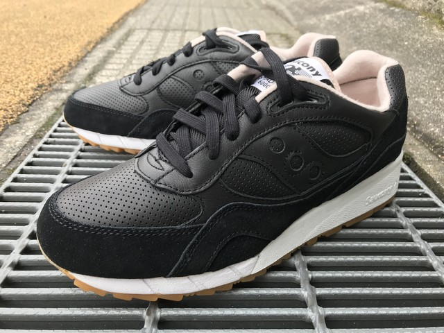SAUCONY SHADOW 6000 HT (BLACK/TAN)