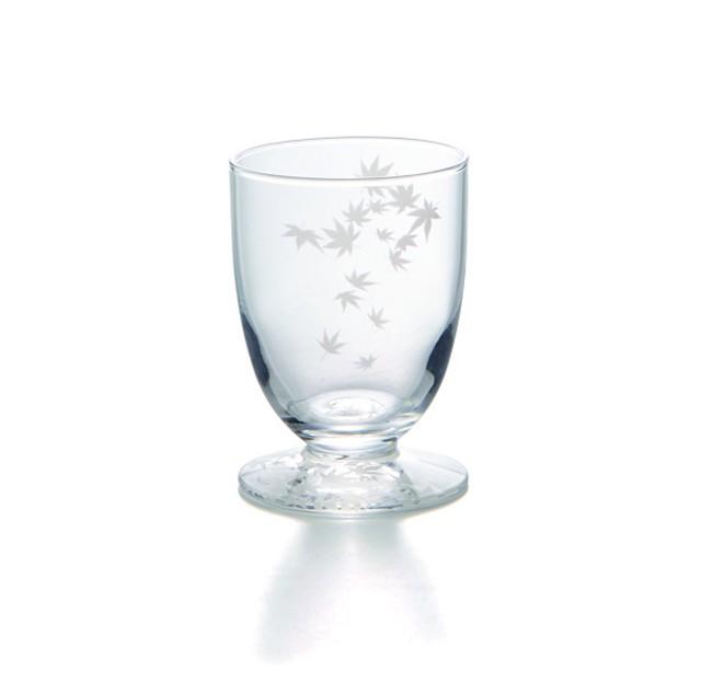 スリガラス風紅葉 盃〜SP3S26-15〜      *丸モ高木陶器* お酒をより楽しむためのおしゃれな酒器!