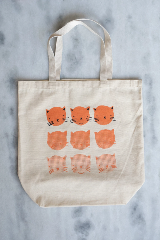 Fading Cats tote bag