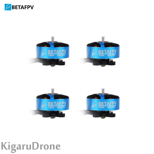 "【 1404 3800KV 軸径:1.5mm】BetaFPV  TWIG XL 3''/X-Knight4"" 純正 2-4S 1404 3800KV Brushless Motors 2-4S ブラシレスモーター4個セット"