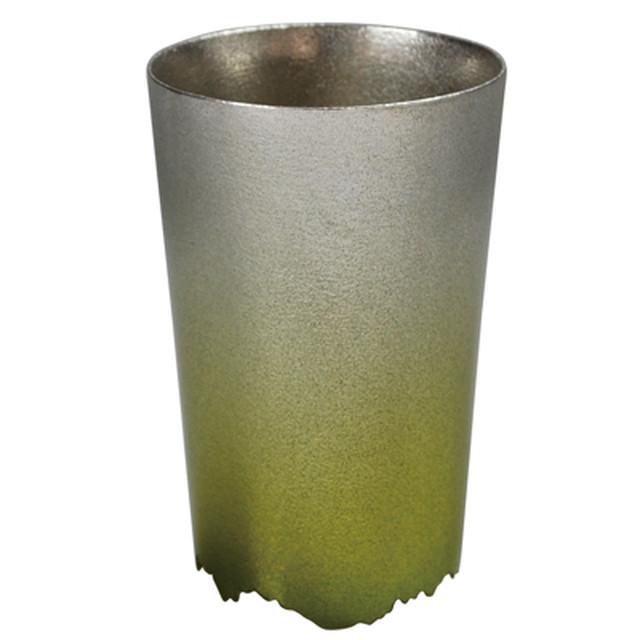 SHIKICOLORS BRIGHTGREEN TUMBLER S(錫の酒器)