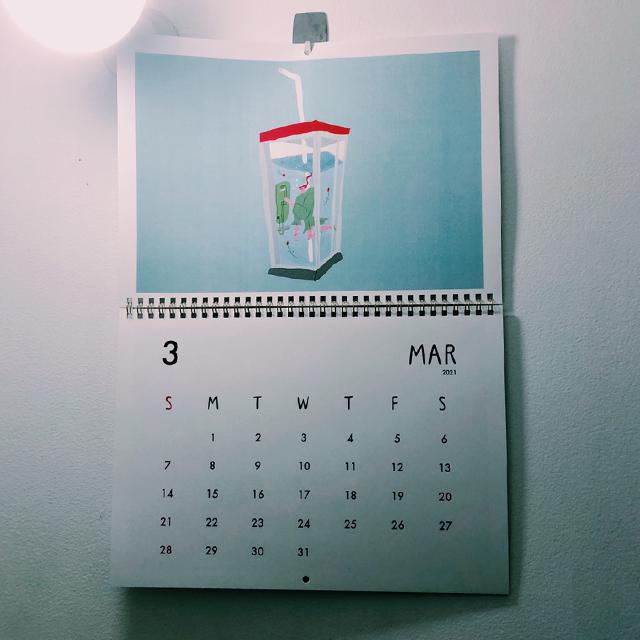 【1月始まり】2021壁掛けカレンダー