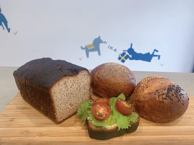北欧の食事パンセット