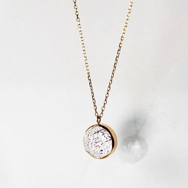 Quartz KIRIKO Necklace (Round)