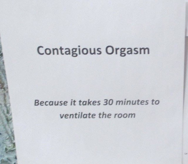 Contagious Orgasm - Because It Takes 30 Minutes To Ventilate The Room  7'Lathe Cut, - メイン画像
