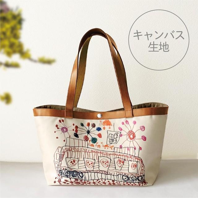 【12月末お届け予定】ミディアムトートバッグ◆キャンバス