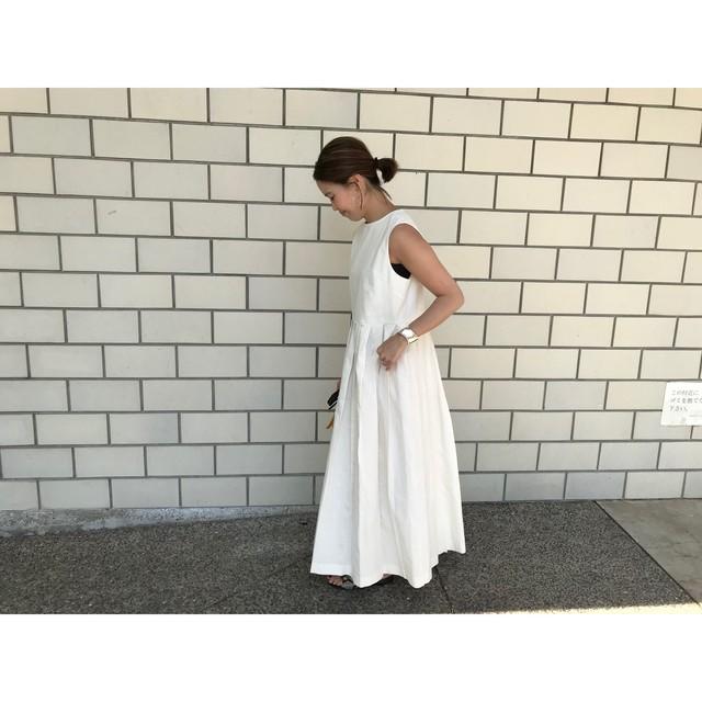 予約summer pleats dress 6月中旬発送予定