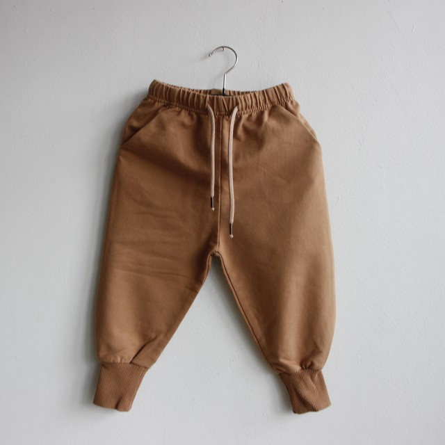 《MINGO. 2021SS》Sweat Pants / Warm Earth