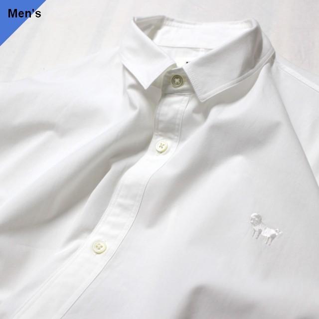 weac. PUGCHAN レギュラーシャツ (WHITE)