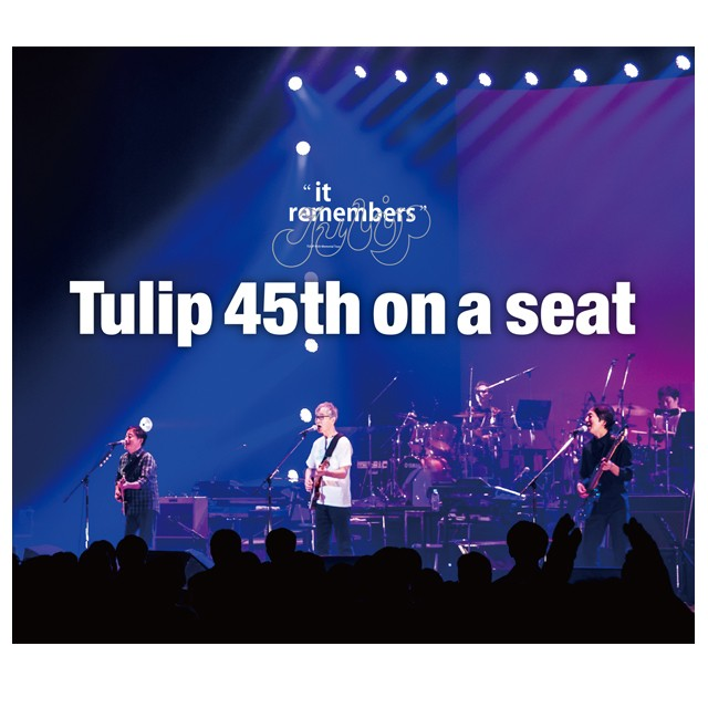 "Tulip 45th "" it remembers "" LIVE CD   on a seat - メイン画像"