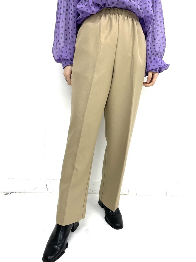 tapered easy pants pants / 3SSPT01-22