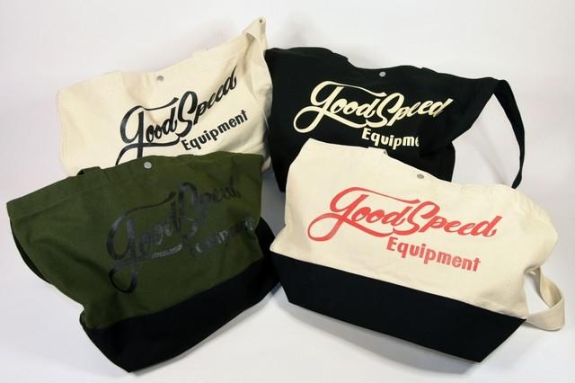 GOODSPEED equipment Lettering Logo tote bag