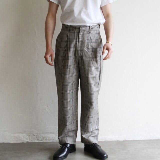 STILL BY HAND【 mens 】big pocket pants