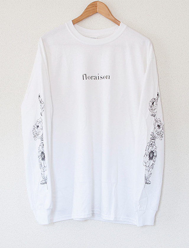 ※Restock【STAY SICK CLOTHING】Floraison Long Sleeve (White)