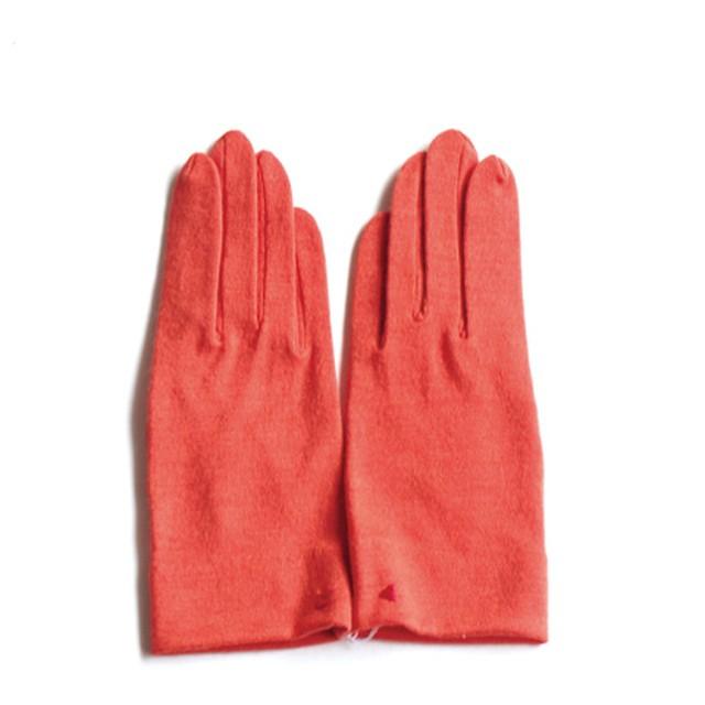 佩 手袋(C/#04 マスタード) ウール100% 手が細くキレイに見える