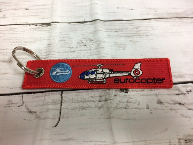 REMOVE BEFORE FLIGHTキーホルダー/Eurocopter EC130