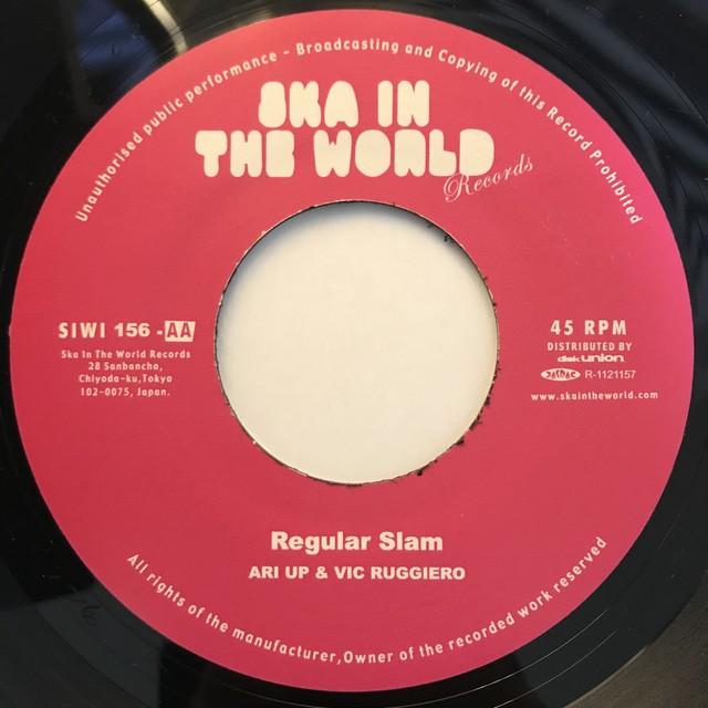 Regular Slam - Ari Up & Vic Ruggiero【7-10825】